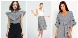 gingham pieces fashion
