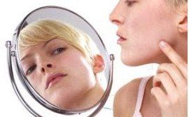 struggle with acne