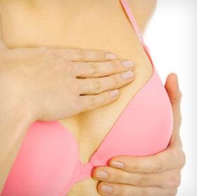 lump breast check