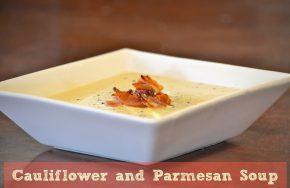 cauliflower and parmesan soup recipe