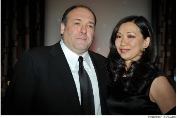 gandolfini dead with wife Deborah