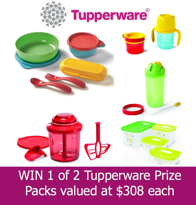 Tupperware prize pack kids feeding extra chef smartvent