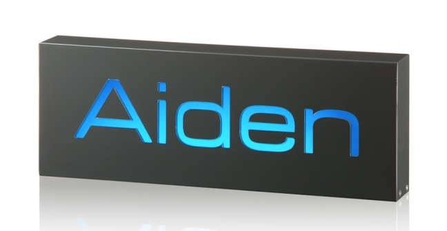 Aiden A personlised childrens night light or bar light   mylight
