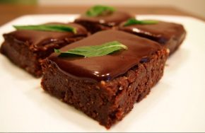 vegan chocolate mint slice recipe