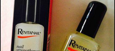 a step 1 revitanail nail strengthener border