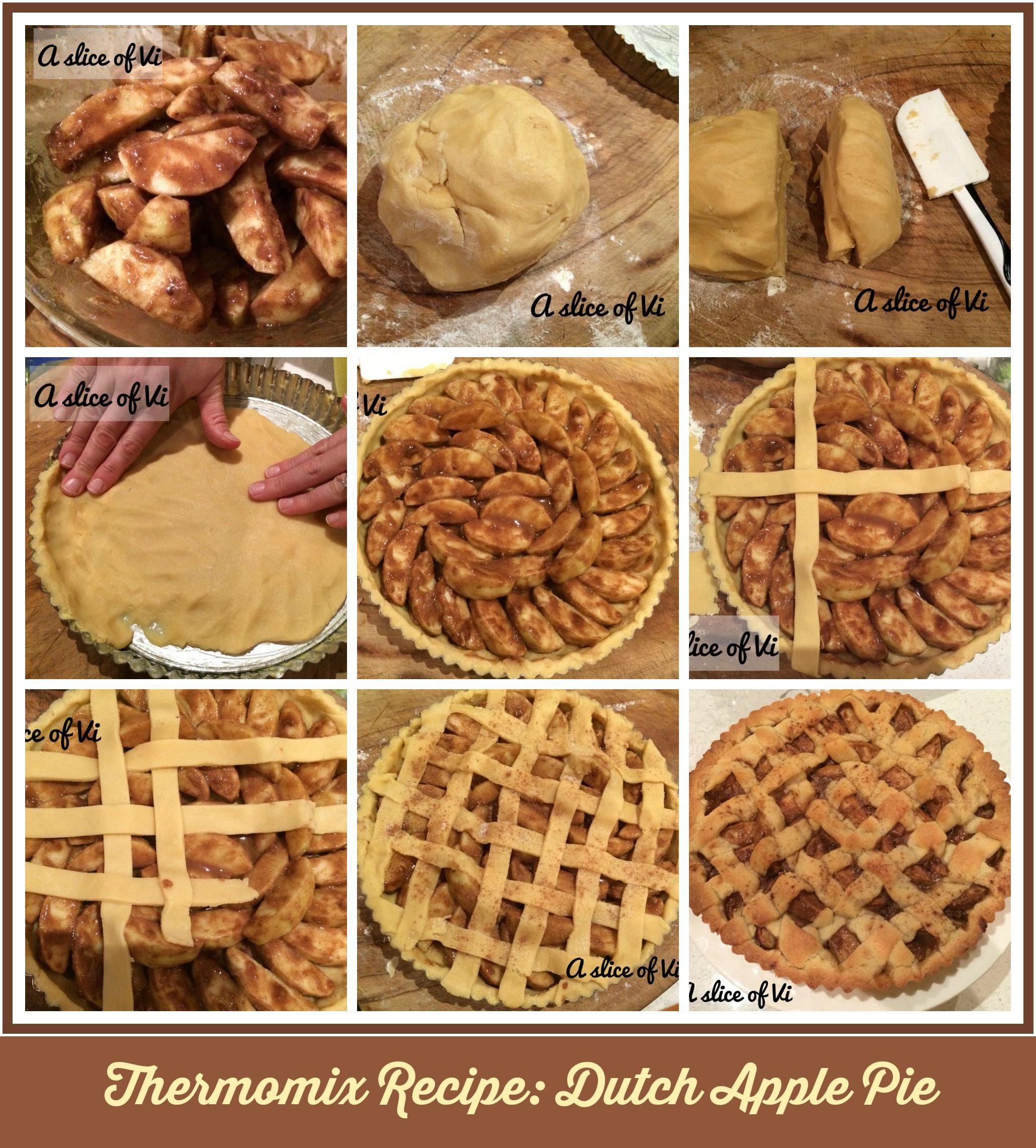 Thermomix Recipe Dutch Apple pie