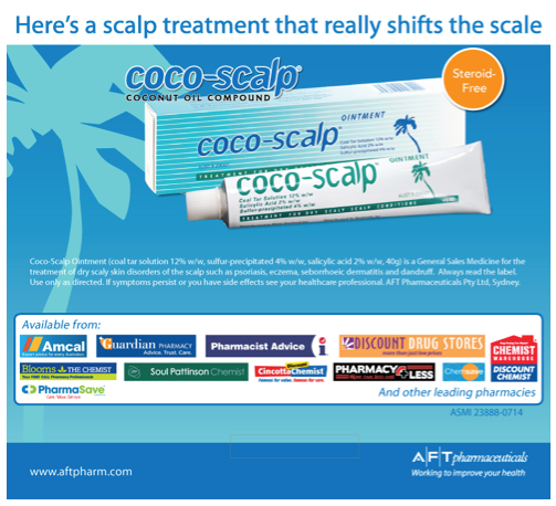 cocoscalp treatment that shifts scale
