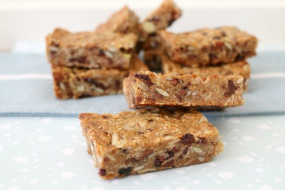 nack to school healthy muesli bars recipe