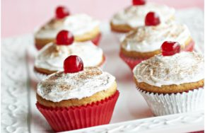 apple and spice cupcakes
