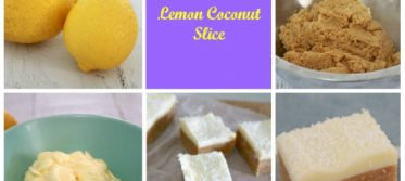 Thermomix Lemon_coconut Slice recipe