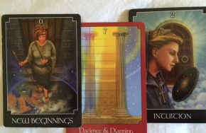 tarot reading new beginnings intuition