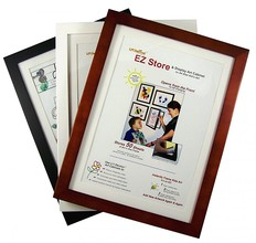 Front Opening Photo Frames from