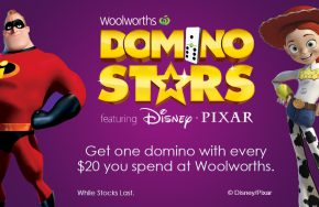 disney pixar dominos collectibles