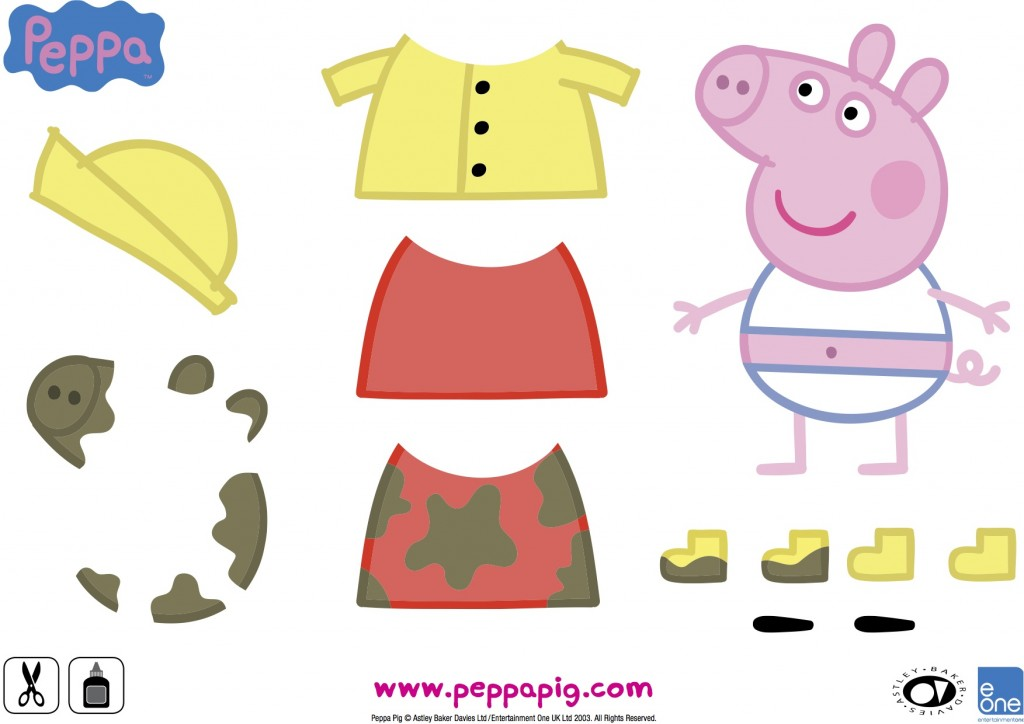 Peppa Pig activity sheet