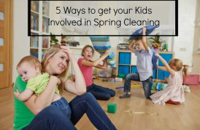Kids Spring Cleaning