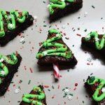 Christmas tree brownies 3