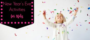 20 New Year's Eve Actitivies for Kids