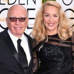 Mandatory Credit: Photo by David Fisher/REX/Shutterstock (5528305dj) Rupert Murdoch and Jerry Hall 73rd Annual Golden Globe Awards, Arrivals, Los Angeles, America - 10 Jan 2016