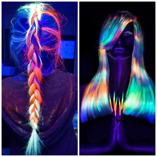 Glow In The Dark Hair Is The Latest Trend Mum S Lounge