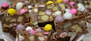 Easter egg rocky road recipe