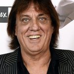 **FILE** A Nov. 12, 2014 image reissued Thursday, March 10, 2016 of Australian singer Jon English at the Foxtel Music Max celebration of Molly Meldrum's 50 years in the music industry in Melbourne. Australian singer and actor Jon English has reportedly died after complications from surgery. (AAP Image/Martin Philbey) NO ARCHIVING