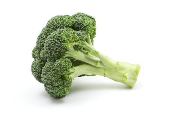 snapping brocolli