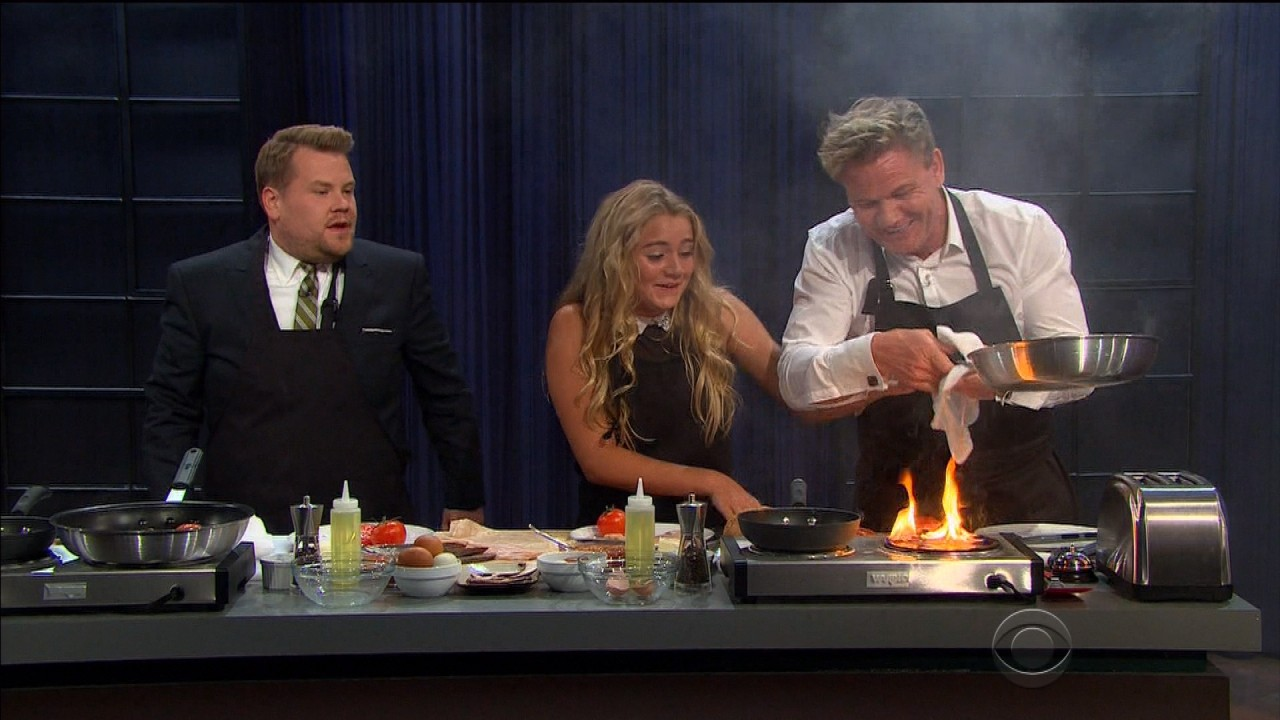 Gordon ramsay and his daughter tilly have a hilarious cook - Gordon ramsay shows ...
