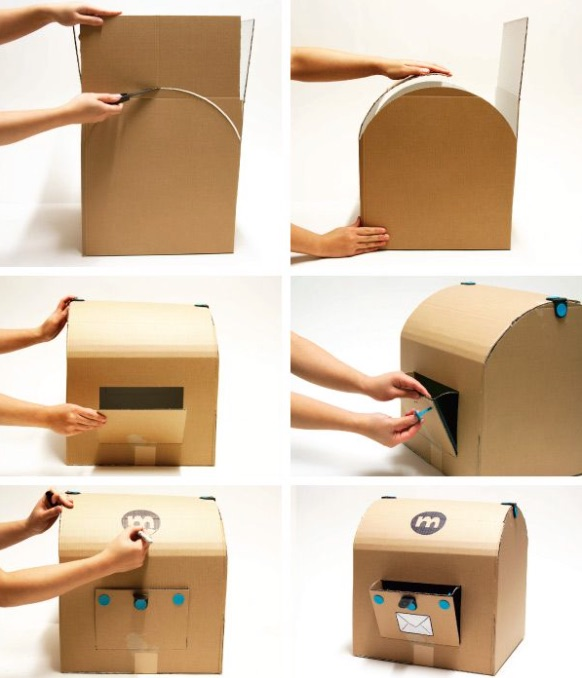 10 awesome ways to repurpose cardboard boxes for