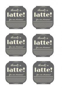 Thanks a latte! mono copy