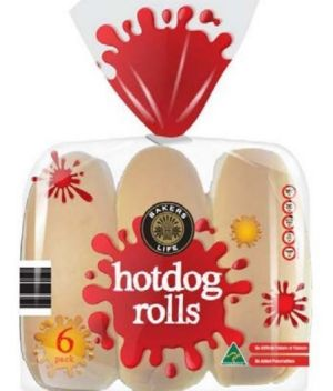 Thermomix Hot Dog Rolls