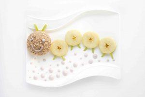 apple crumble caterpillar
