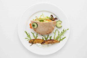 pita fish holiday inn food art