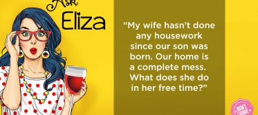 Ask Eliza - wife not doing housework