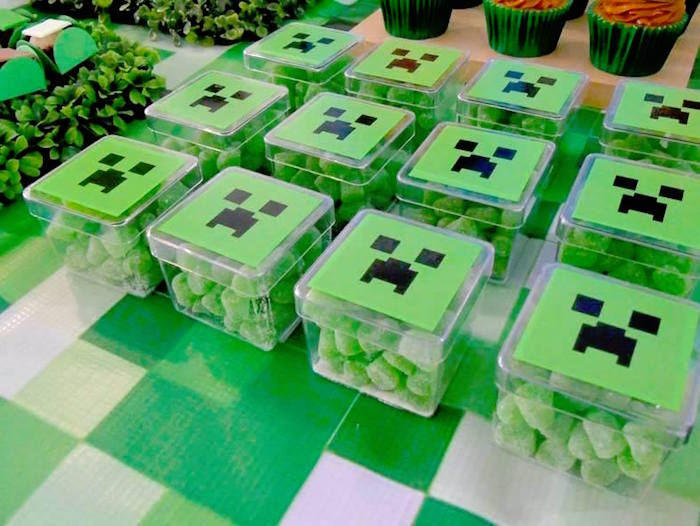 party favours awesome minecraft party ideas