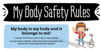 body safety rules