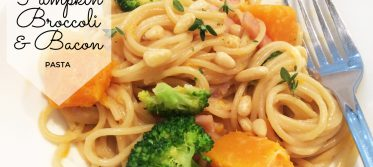 one pan pumpkin broccoli bacon pasta