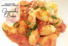 Bacon & Sun Dried Tomato Gnocchi Bake
