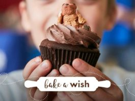 bake a wish for sick kids