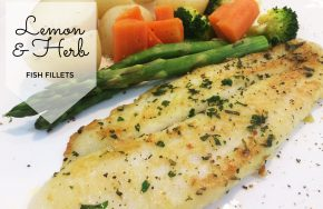 lemon & herb fish fillets