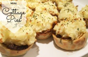 mini cottage pies