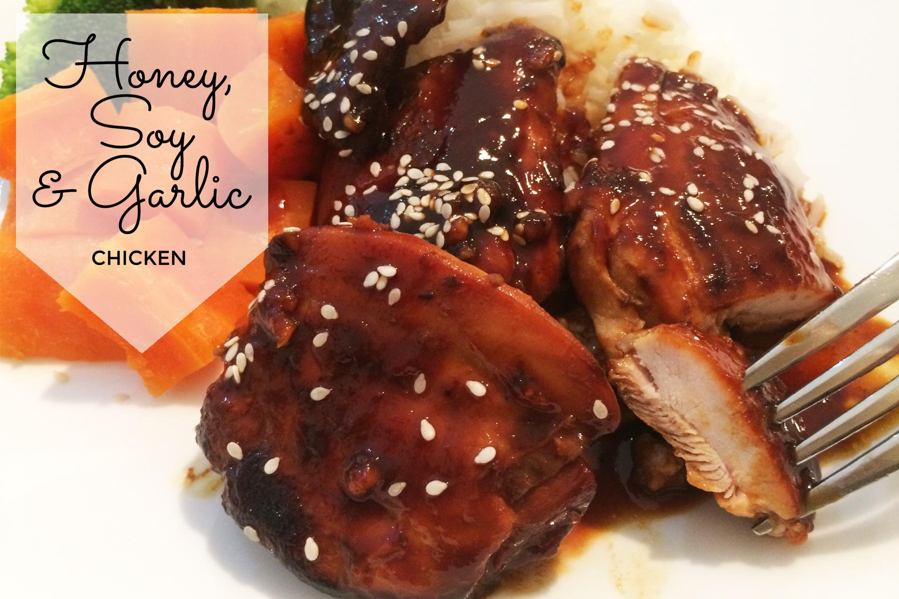 Honey Soy Garlic Chicken