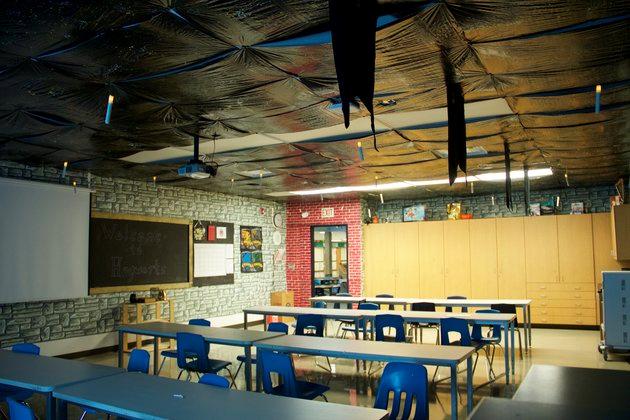 harry potter inspired classroom
