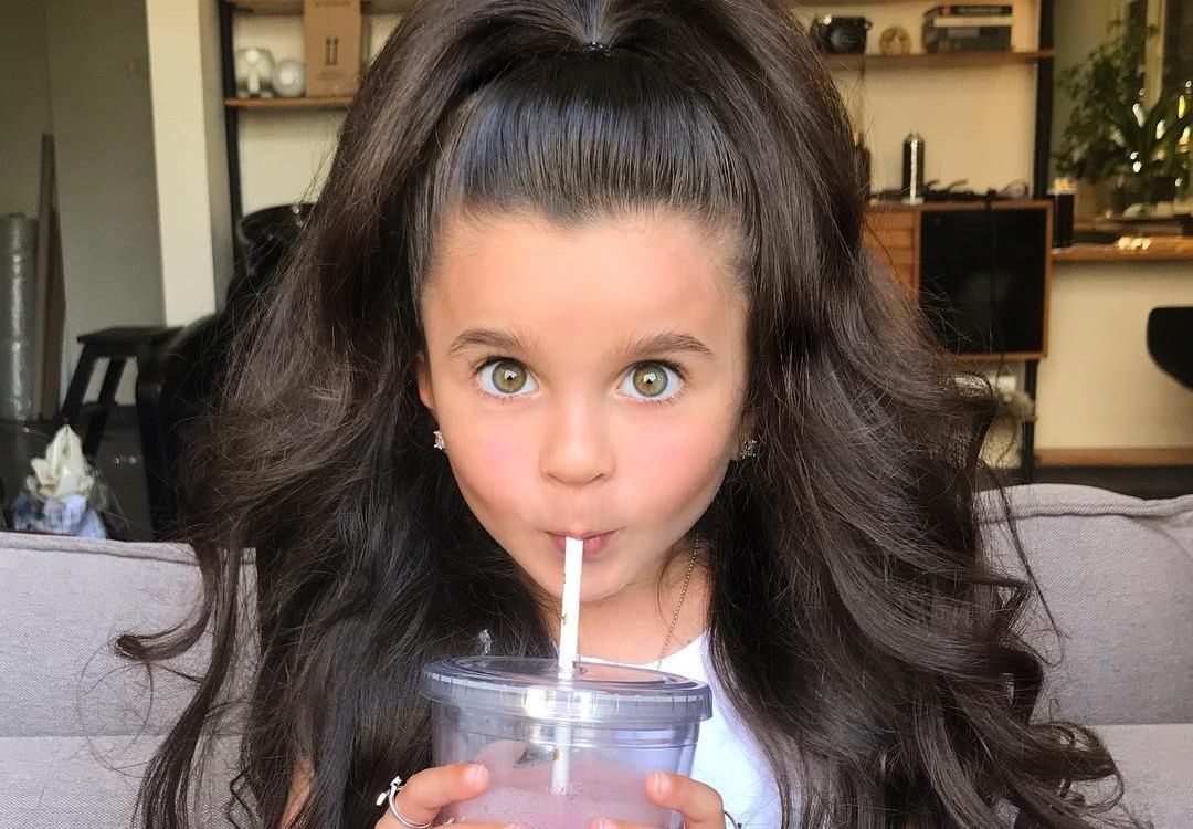 This 5-Year-Old Israeli Girl Has the Most Gorgeous Hair on ...  This 5-Year-Old...